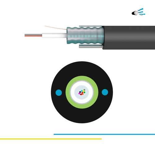 OM1 12 fibras Cable Monotubo Armado