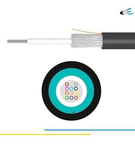OS2 6 fibras Cable Monotubo Dielectrico