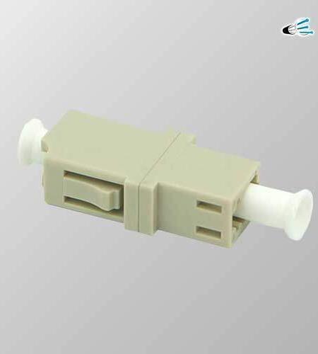 Acoplador Fibra optica LC PC Simplex Multimodo