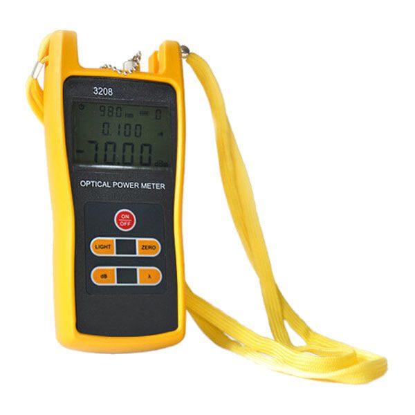 medidor de potencia amarillo